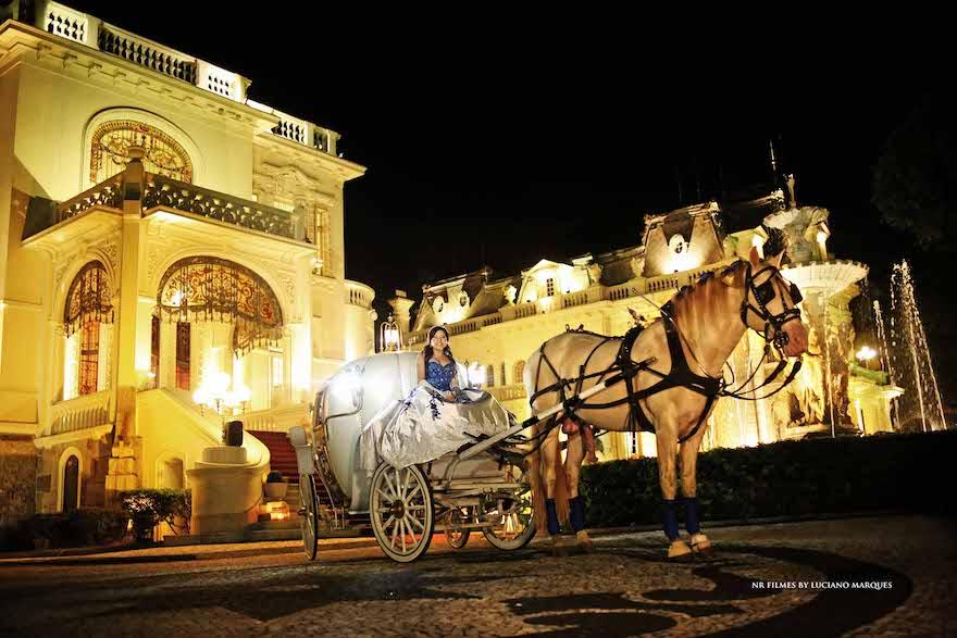 Festa de 15 anos Castelo