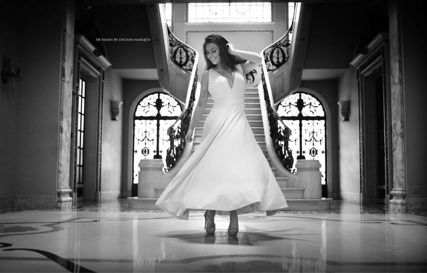 Lugar ensaio trash the dress