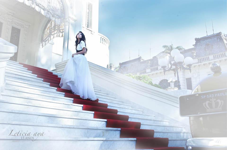 Festa debutante 15 anos castelo